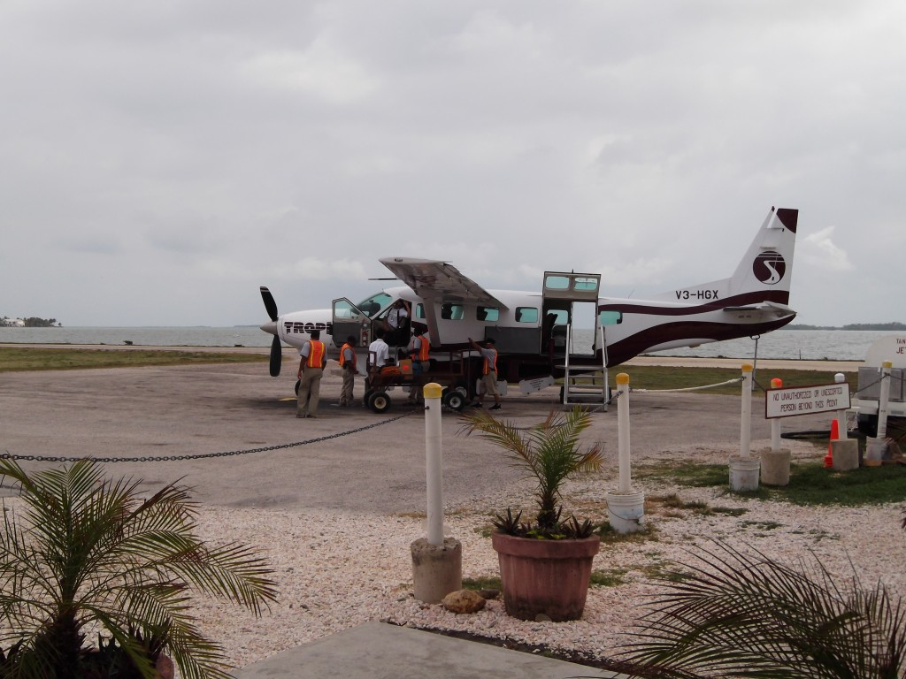 Our Plane from Belize