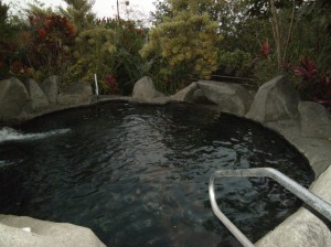 One of the many pools